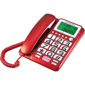 《Alcatel》來去電報號有線電話T-216