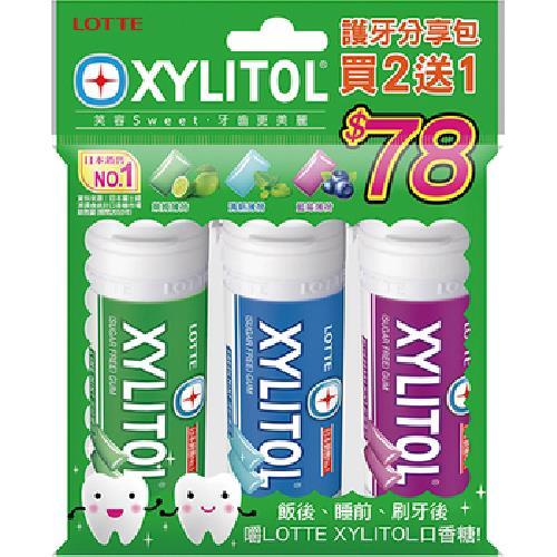 《LOTTE》XYLITOL護牙分享包(78.3g)