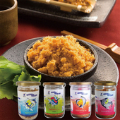 《旗聚一堂》寶寶魚酥(100g/罐) 鮭魚/旗魚/鮪魚/虱目魚 口味任選2罐旗魚+鮭魚 $350