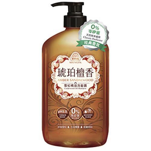美吾髮 琥珀檀香雪松精油洗髮露(850ml)