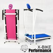 《X-BIKE》迷你跑步機/健走跑步機 台灣精品 CT20100(藍)送瑜珈墊