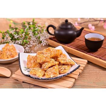 豐鑫 蜜麻花/各式香片(270g±20g) (3入)(豐鑫杏仁香片)