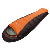《Lirosa吉諾佳》超保暖型羽絨睡袋600g-短型 # AS600BS(顏色:隨機出貨)