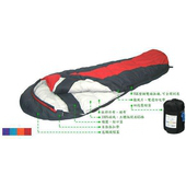 《Lirosa吉諾佳》超保暖型羽絨 睡袋1000g # AS1000B(顏色:隨機出貨)