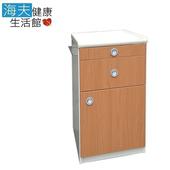 《YAHO 耀宏 海夫》YH016-2 木質紋路 ABS床頭櫃 防水 防靜電