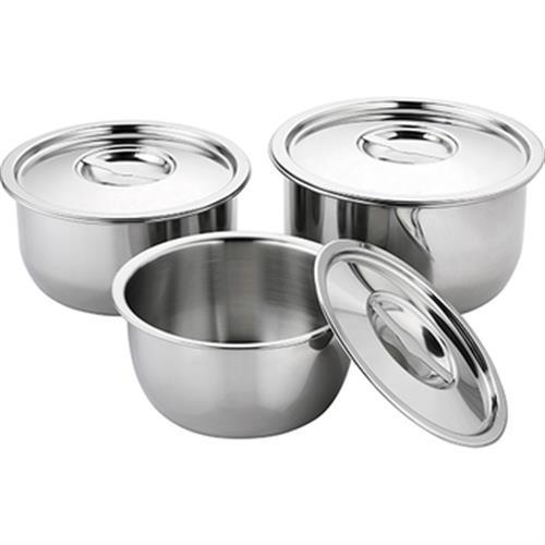 《皇家西華Premium》不鏽鋼調理鍋-三入(18CM+20CM+22CM)