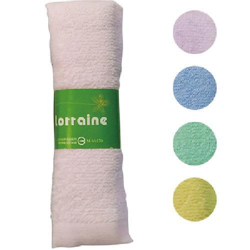 風采素色毛巾單條包-隨機出貨(33*76CM 60G/PC)