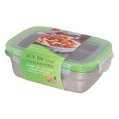 《Dr.RIN》304不鏽鋼保鮮盒550ml(16x11.5x6cm / ES0046)