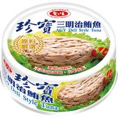 《愛之味》珍寶三明治鮪魚110gx3罐/組