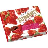 《明治》草莓夾餡巧克力26枚(120g/盒)