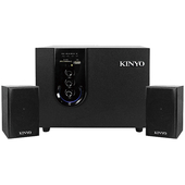《KINYO》藍牙2.1讀卡木質音箱KY1755