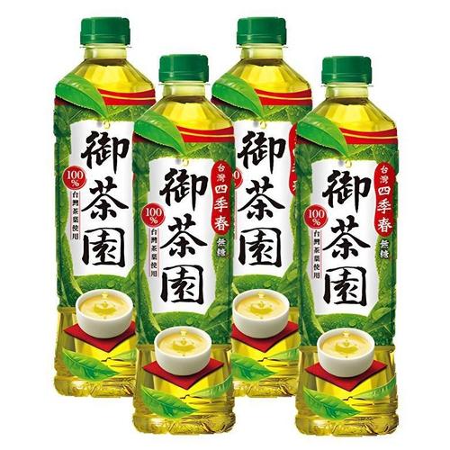 《御茶園》台灣四季春(550ml*4瓶/組)