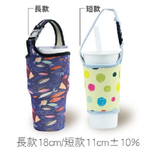 多功能加厚環保杯套-混款隨機出貨(短款)