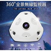 《勝利者》全景360度 雲端無線監視器(白)