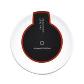 《U-ta》智慧型手機無線充電板QI1-平放式(通過NCC認證)(黑色)