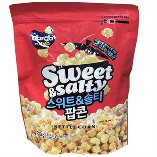 韓國DARDA 爆米花(鹹甜-250g)