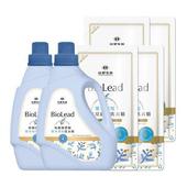 《台塑生醫》BioLead抗敏原濃縮洗衣精 嬰幼兒衣物專用(2瓶+4包)