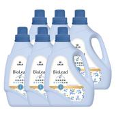 《台塑生醫》BioLead抗敏原濃縮洗衣精 嬰幼兒衣物專用1.2kg(6瓶入)平均$137/入