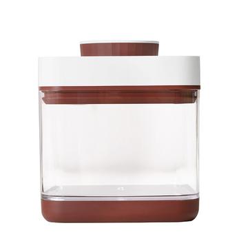 《ANKOMN》ANKOMN|SAVIOR 真空保鮮盒1.5公升(紅棕)