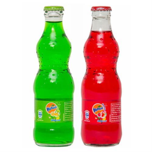 《泰國芬達》汽水(青蘋果-250ml/瓶)