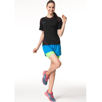 《SAIN SOU》Lady內加長運動短褲T13733-06(M)
