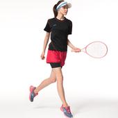 《SAIN SOU》Lady內加長運動短褲T13733-03(M)