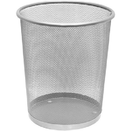 《Axis》鐵網圓形垃圾桶 9L-顏色隨機(CL076)