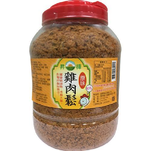 昇樺 原味雞肉鬆(1.8kg/桶)