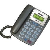 《三洋》助聽報號功能有線電話TEL-817-隨機出貨(聽筒助聽/來去電報號)