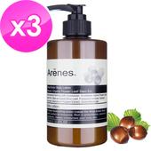 《Arenes》乳油木果植萃身體乳霜3入組