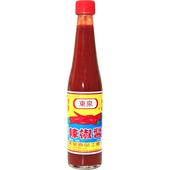 《東泉》辣椒醬玻璃瓶裝420cc/瓶 $39
