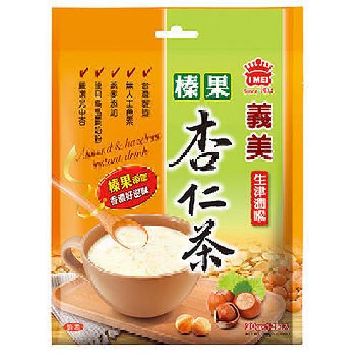 義美 榛果杏仁茶(30g*12包/袋)