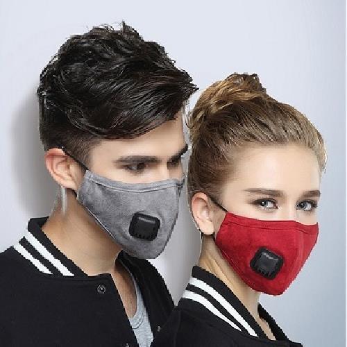 多功能防塵高過濾PM2.5口罩-顏色隨機(女)