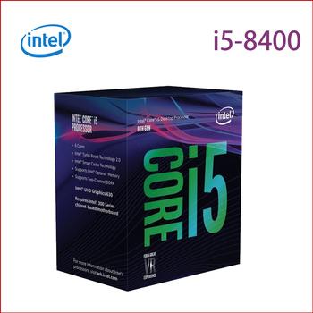 Intel Intel 第八代 Core i5-8400 六核心處理器盒裝(i5-8400)