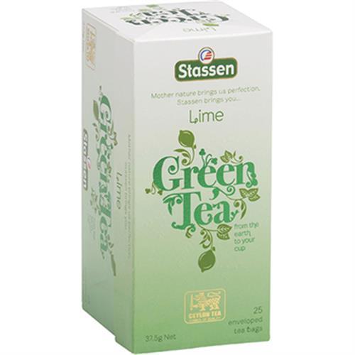 司迪生Stassen 茶包系列1.5g*25入/盒(萊姆綠茶)