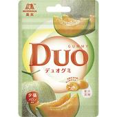《森永》嘟歐雙層QQ軟糖(夕張哈密瓜)(40g/包)