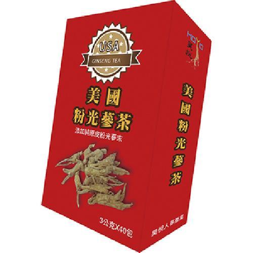 昊悅 美國粉光蔘茶(3g*40入/盒)