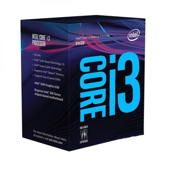 Intel 第八代 Core i3-8100 中央處理器(盒裝)(i3-8100)