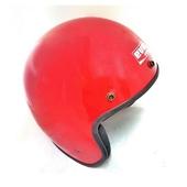 騎士帽 復古帽-素色 M(辣椒紅)