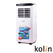 《KOLIN歌林》不滴水4-6坪冷專清淨除濕移動式空調8000BTU(KD-201M03 送DIY專用可拆式窗戶隔板)售價$15990