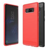 《YANGYI揚邑》Samsung Galaxy Note 8 6.3吋 碳纖維拉絲紋軟殼散熱防震抗摔手機殼(碳纖拉絲軟殼-黑)
