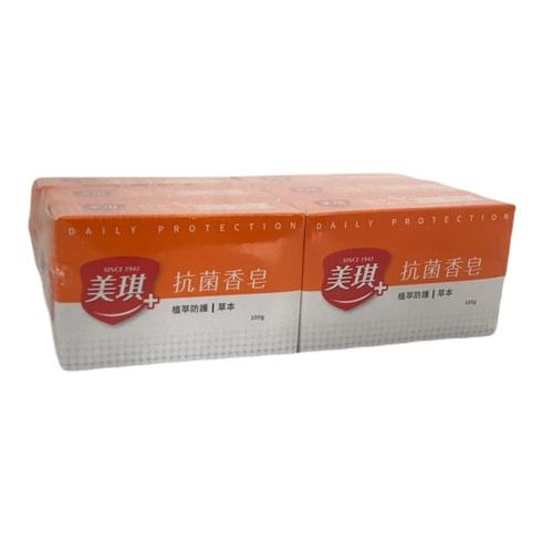 《美琪》抗菌香皂-100g*6(草本)