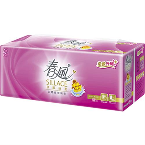 春風 SILLACE乳霜蜂蜜精華抽取衛生紙(110抽*12包)
