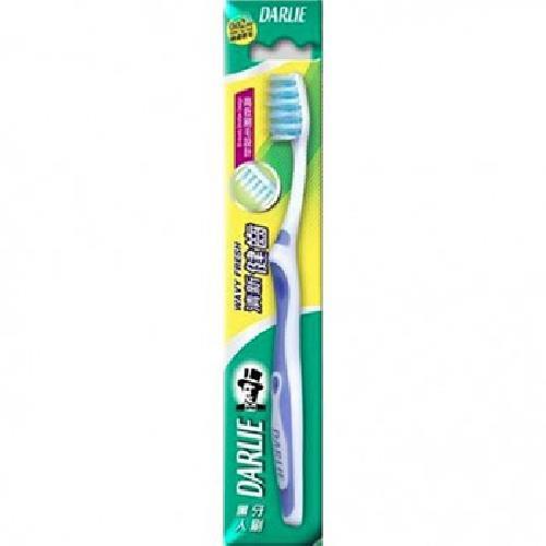 《黑人》清新健齒牙刷(4入/組)-黑人全系列滿249送收納袋*1