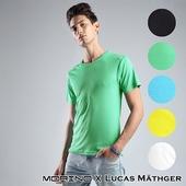 《台灣製MORINO》吸排涼爽素色短袖圓領衫-顏色隨機出貨(MO5213-M)