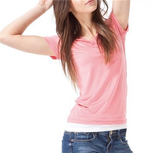 《台灣製MORINO》抗UV速乾短袖衫(MO4218-M)