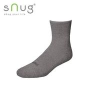《台灣製SNUG》運動襪 27-29cm(灰)