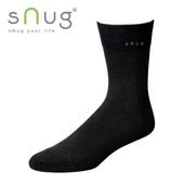 《台灣製SNUG》紳士襪-黑(23-25CM)