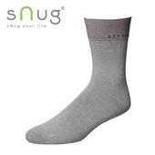 《台灣製SNUG》紳士襪-灰(25-27CM)