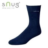 《台灣製SNUG》紳士襪-深藍25-27